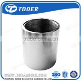 China qualified tungsten carbide bush tungsten carbide sleeve