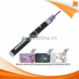 stylish portable teach pen green uv laser pointer pen with 1KM distance