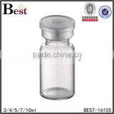 3 / 4 / 5 / 7 / 10 / 20ml borosilicate glass tube bottle with butyl stopper                                                                                                         Supplier's Choice