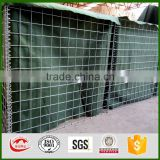 Welded gabion wall and welded gabion basket for military sand wall hesco barrier