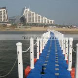 plastic pontoon floating bridge