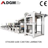 corrugated paperboard laminating machine ETH1300-1100