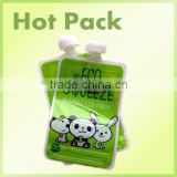 Customized Graphics And Wordings Baby Food Spout Pouch/jelly Juice Stand Up Pouch With Spout