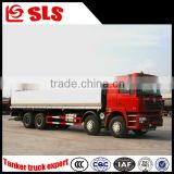 China supplier cheap Shacman 8*4 chemical transport tank truck sale for flammable liquid