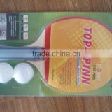pingpong racket with balls----BSCI FACTORY