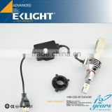 Smart System Copper Belt Non Polar Car H1 9005 9007 H13 fanless h4 h7 h9 h11 led headlight replace halogen bulb