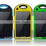travel products travel set 5000mah Solar power bank ,golf mobile power bank factory outlets center