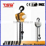 3 ton Quick-lifting Type HSZ-C Chain Pulley Block/Chain Hoist/Manual Hoist/Manual Block, With G80 Chain