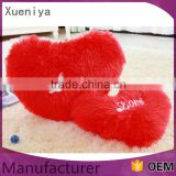 China Supplier 2016 New Design Cute Love Red Heart Stuffed Plush Toys