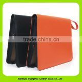 16064 high quality leather presentation file folders / leather expandable file folder