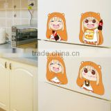 New Umaru Doma - Himouto Umaru Chan Anime Wall Decal Japanese Waterproof Vinyl Multifunction Decorative Sticker YIFEIKMD01