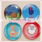 melamine high quality popular party plastic disposable tableware