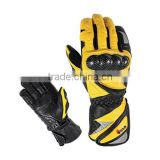 Motorbike Leather Aniline Racing Gloves