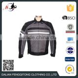 OEM Service Wind proof Safety Men Clothing Wholesale Motocycle Jacket