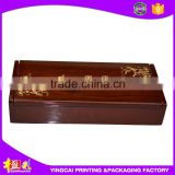 Hot selling promotional empty wooden box/small wooden box for wholesales with slide lid for crafts