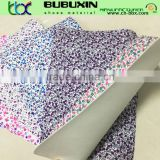 cheap price small flower print fabric with eva 1.0mm