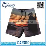 China Factory Fashion printing surf hot men beach shorts