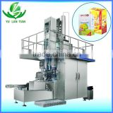 dairy yogurt milk carton box filling packing machine