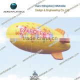 Inflatable helium airship for advertising / Inflatable tethered blimp /Advertisement tethered blimp