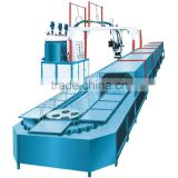 Wenzhou STARLINK hot sale 19m 60 station production line PU lady shoe sole moulding machine