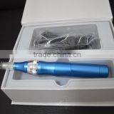 2014 newest product CE approval 1,3,7,9,12,36, 80 needles electric massage vibrator derma pen professional derma stamp