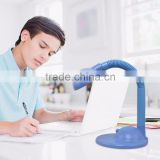 Eye protect Blue color LED table lamps for students use