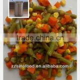 Wholesale Canned Mixed Vegetable Food Grade A Tin Can
