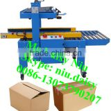 semi-automatic box gluing machine/folding carton box gluing machine/cardboard box gluing machine