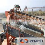 Zenith high efficiency gravel washer with capacity 10-80TPH