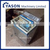 Vacuum packaging machine 300 type double sealing filling machine installed