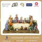11 Inch Resin Decorative Wall Hanging Art And Crafts The Last Supper 3d Picture Sculpture
