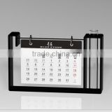 Alibaba new year gift China Wholesale custom made printer clear acrylic calendar stand