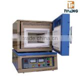 China CE certificate 1200C laboratory high temperature dental muffle furnace for digital thermomet