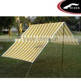 Camping Outdoor Canvas Tarp Sun Shade Beach Shelter Tent
