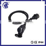 industrial equippment flat iron power cord