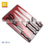 promotional 5pcs stainless steel Kitchen knife set