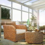 Sofa Chair For Lounge Room, Water hyacinth Material