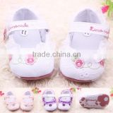 Baby Mary Jane Baby Girls Princess Soft Sole Lace Flower Shoes