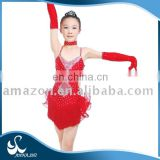 Stage wear supplier Hot sale Fitting Professional latin dance costumes