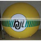 5m yellow inflatable PVC balloon/helium balloon/promotional balloon/ PVC advertising balloon/helium cube/sphere/event ball/blimp