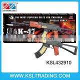 New Design AK 47 kid toy gun with laser and light for play