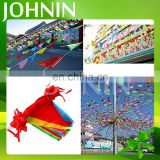 OEM and ODM hot sale cheap polyester fabric flags bunting for party