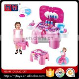 Hot selling pink lovely little toy makeup set girls pretend playing toy set