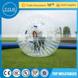 2017 balls for people inflatable dummy soccer bubble with En14960/EN15649