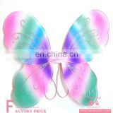 Party decoration Colorful feather Angel Fairy Butterfly Wings for sale