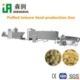 Automatic puffed snacks machine