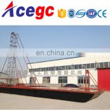 China river sea drill type sand digging machine for sale