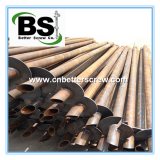 Helical Piles for Light pole support piles