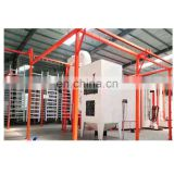 Automatic powder coating booth for aluminium profiles 1.5