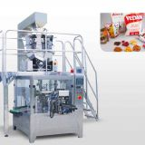 Automatic weighing granual premade pouch packing machine